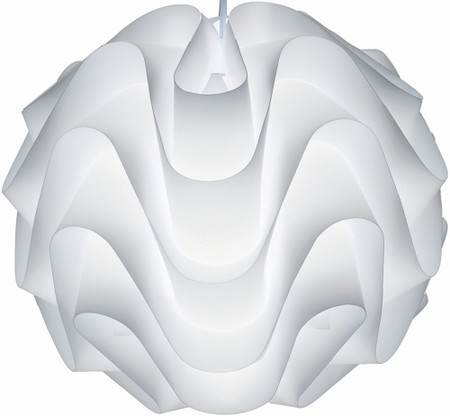Meringue Pendant Lamp White