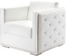 Nuevo Boxer Arm Chair White