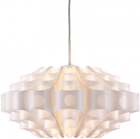Orb Pendant Light In White