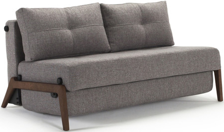 Cubed Wood Sofa Bed