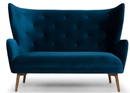 Klara Two Seater Midnight Blue