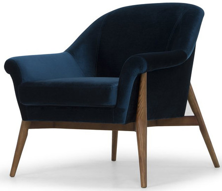 Charlize Single Seater Midnight Blue