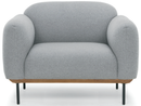 Light Grey Benson Single Seater