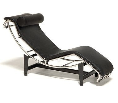 Le corbusier leather chaise lounge lc4 by alphaville design for Chaise longue le corbusier ebay