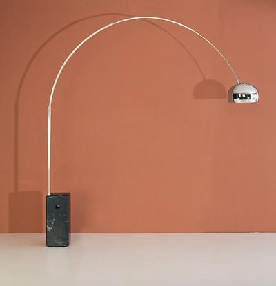 modern castiglione arco lamp image 1