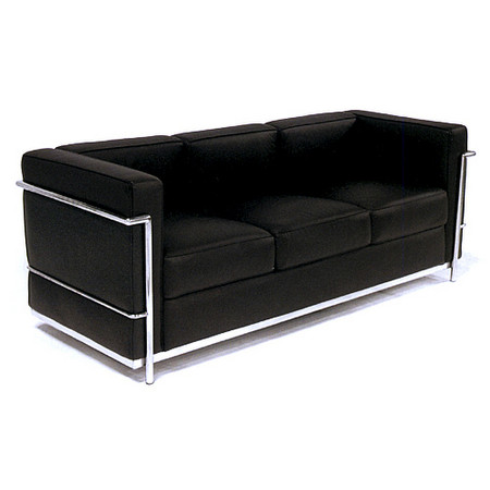 Le Corbusier Petit Sofa Lc2 Original Size