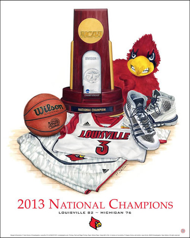 University of Louisville 2013 National Basketball Champions
