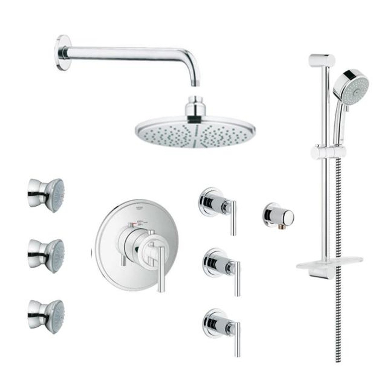 Grohe Timeless Thm Custom Shower Kit 117162 York Taps