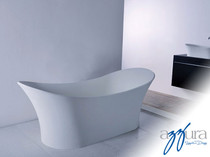 Mirolin Andrina Solid Surface Freestanding Bath Tub 69""