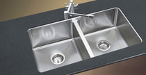 "Castle Bay Lincoln Under Mount Kitchen Sink 50/50 31""x 18"""