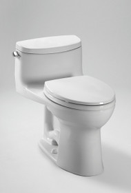 Toto Supreme II One-Piece High-Efficiency Toilet with SanaGloss 1.28GPF
