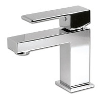 Rubi Quatro Single-hole basin faucet with pop-up waste RQT11BCC