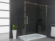 "60"" Mirolin Roll Top Shower Door"