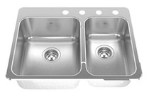KINDRED Undermount Stainless Kitchen Sink KCUC36R/9-10BG
