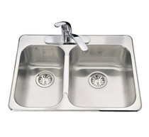 KINDRED Steel Queen Kitchen Sink Drop In