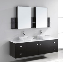 "Arizona 72"" Wall Mount Vanity"