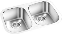 Double Bowl Kitchen Sink 24.5'' x 17 3/8''