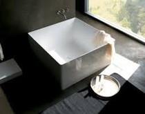"Verona 47"" x 47"" Square Freestanding Bathtub"
