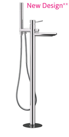 Royal Palm Freestanding Tub filler Chrome