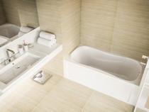 """Mirolin Prescott Soaker bath tub 60 x 30"""""""