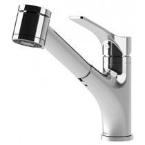 Kalia DEKA SURFER Single handle kitchen faucet Pull-out 2-mode spray chrome