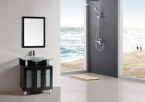 """Delux 24"""" Bathroom Vanity Espresso"""