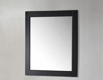 """Royal Wall Framed Mirror 36"""" Espresso"""