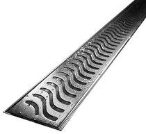 "Stainless Linear Shower Drain Base & Cover 30"" x 2.75"""