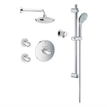 Grohe 122628 Basic THM Dual Function Shower Kit