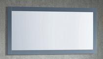 """Royal Wall Framed Mirror 48"""" x 32"""" Ice Grey"""