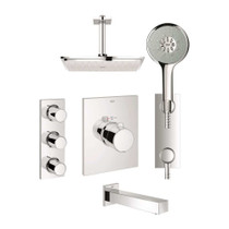 Grohe 123155 GrohTherm F Custom Shower Kit
