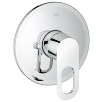 Grohe  Single Loop Handle Pressure Balanced Valve Trim in Starlight Chrome