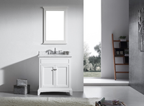 "Argento 24"" Bathroom Vanity White"