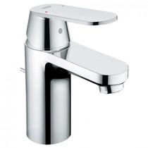 Grohe Eurosmart Single Hole Bathroom Faucet with Single Lever Handle  With Drain