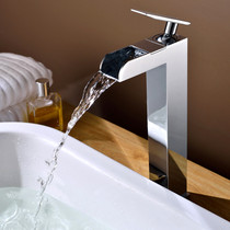 Royal Ona Tall Single Handle Waterfall Faucet
