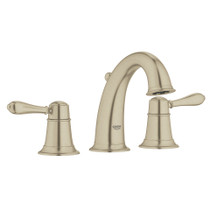 """Grohe Fairborn Widespread 8"""" Faucet Brushed Nickel"""