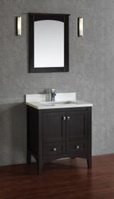"""Yorkton 30"""" Bathroom Vanity Espresso"""