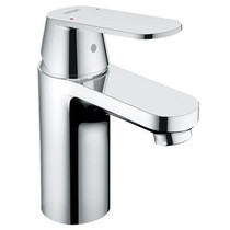 Grohe Eurosmart Cosmo Lavatory Centerset Faucet Less Drain