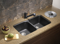 Blanco Vision U 2 Bowl Undermount Silgranit Sink