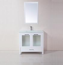 """Madrid 34"""" Bathroom Vanity White"""