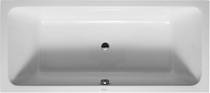 "Duravit D-Code central outlet Drop In Bath Tub 72 x 32"""