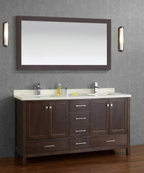 "Sandy 72"" Double Sink Bathroom Vanity  **BLOWOUT**"
