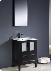 "Bello 24"" Bathroom Vanity Espresso"
