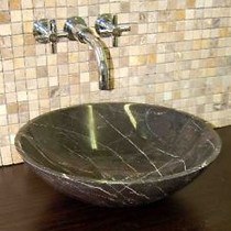 Neptune Marble Over Mount Bathroom Sink