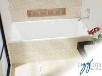 "Mirolin Envy 60"" Drop-in Tub"