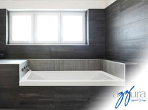 "Mirolin Aura Soaker 60"" Tub"