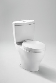 "Toto Aquia Dual Flush Toilet 1.6GPF & 0.9GPF - 10"" Rough-in"