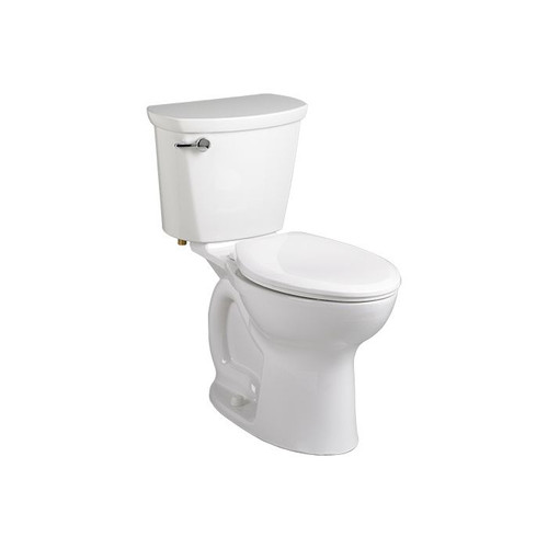 """American Standard Cadet Pro Right Height Round Front Toilet 10"""" - White"""