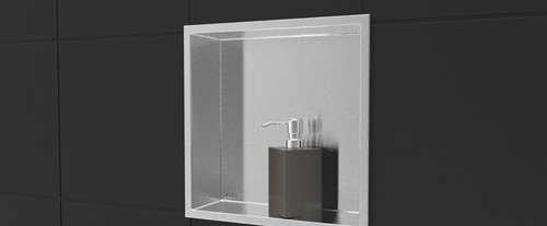 Nikia - Rubi Shower Niche Shelf Stainless RNK12-IB