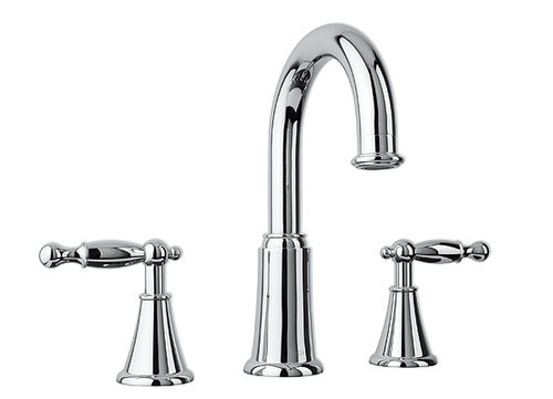 "Rubi Qabil 8"" Widespread Lav Faucet Chrome"